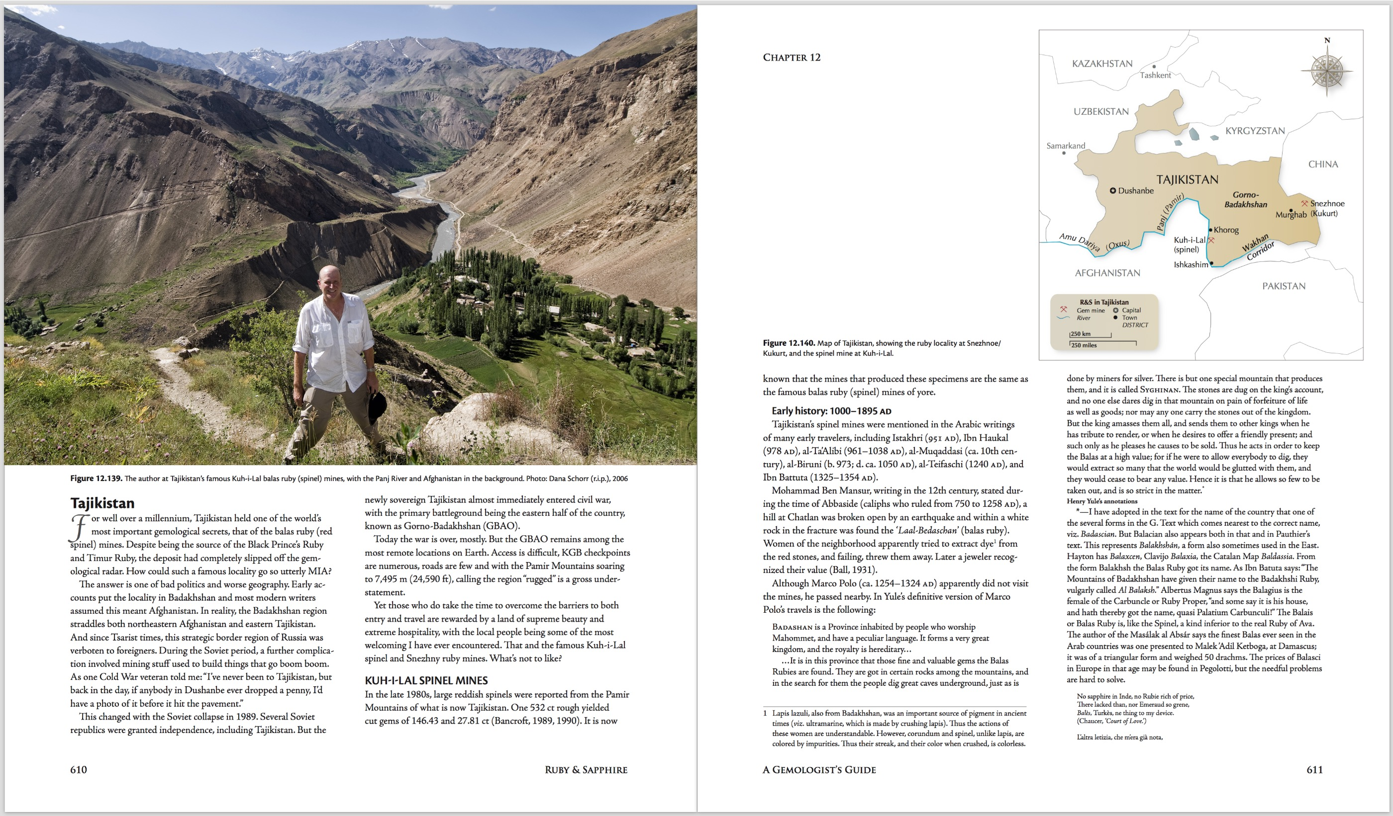 Ruby & Sapphire: A Gemologist's Guide – World Sources: Tajikistan