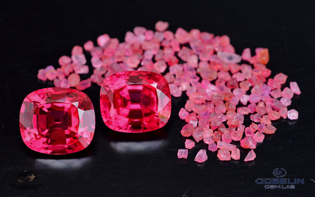 spinel resurrection of a classic lotus gemology