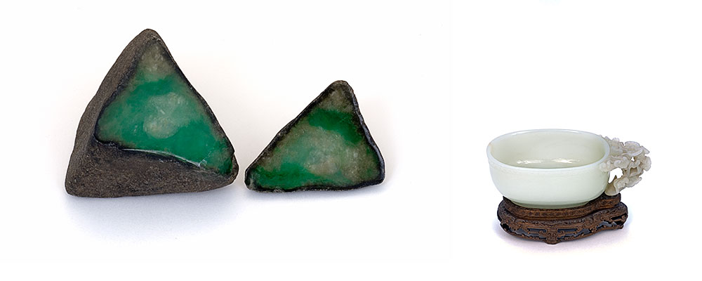 What is the value of jade?