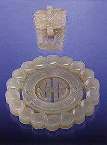 Nephrite carvings