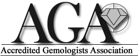 Accredited Gemologists Association logo