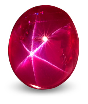 Burmese star ruby. Photo: Wimon Manorotkul, Lotus Gemology.