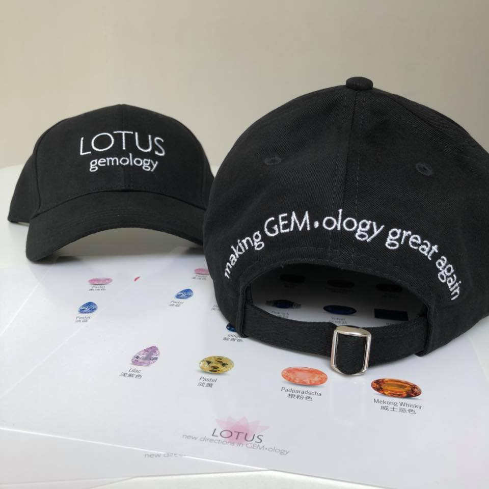lotus gemology make gemology great again hat