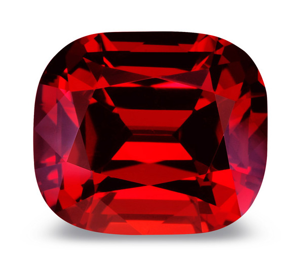 Royal red ruby.